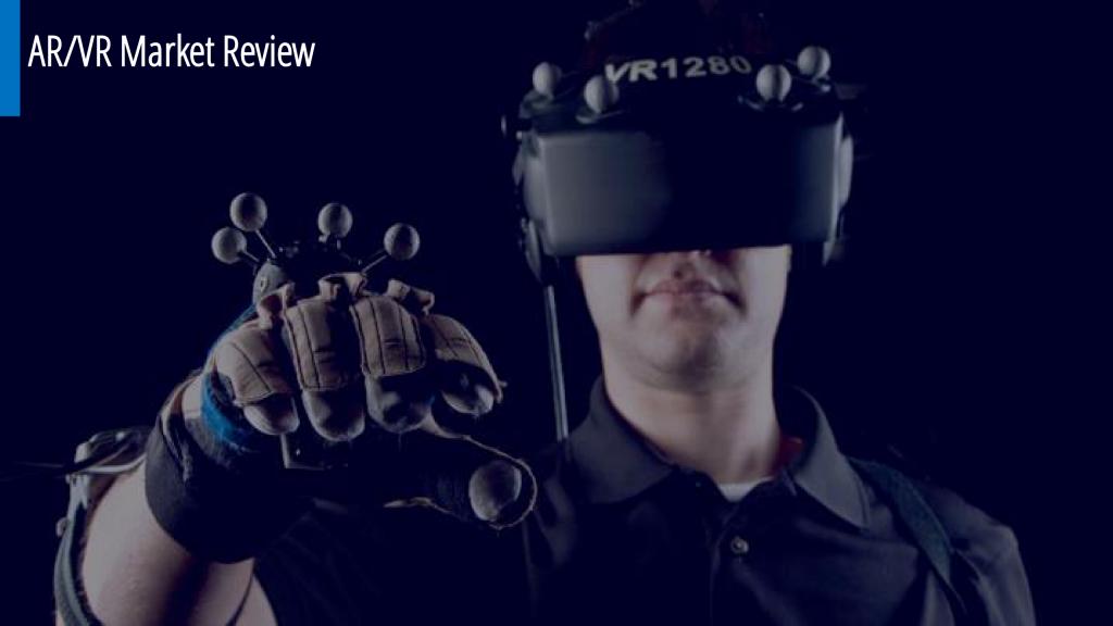 Мировой рынок виртуальной и дополненной реальности AR/VR